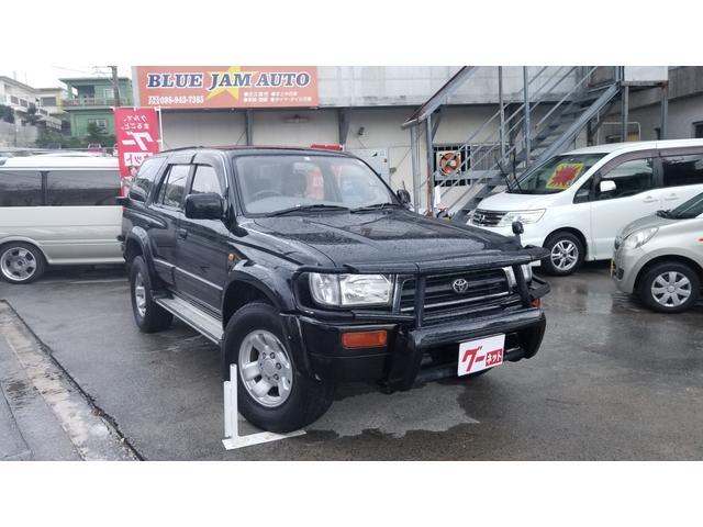 沖縄県の中古車ならハイラックスサーフ SSR-X ワイド MT車 4WD グリルガード