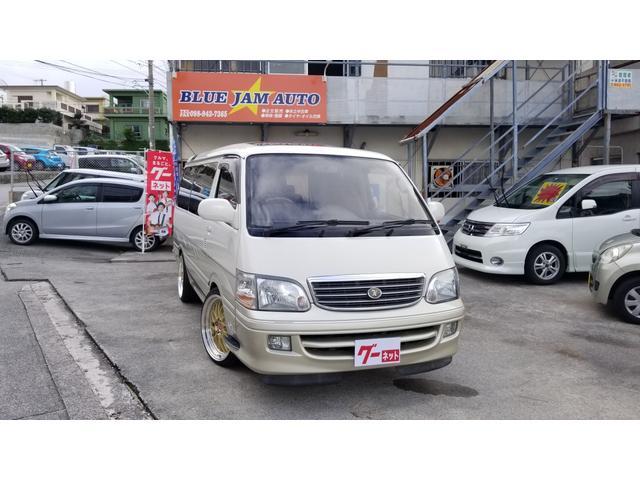 沖縄の中古車 トヨタ ハイエースワゴン 車両価格 98万円 リ済込 平成11年 23.0万km パールII