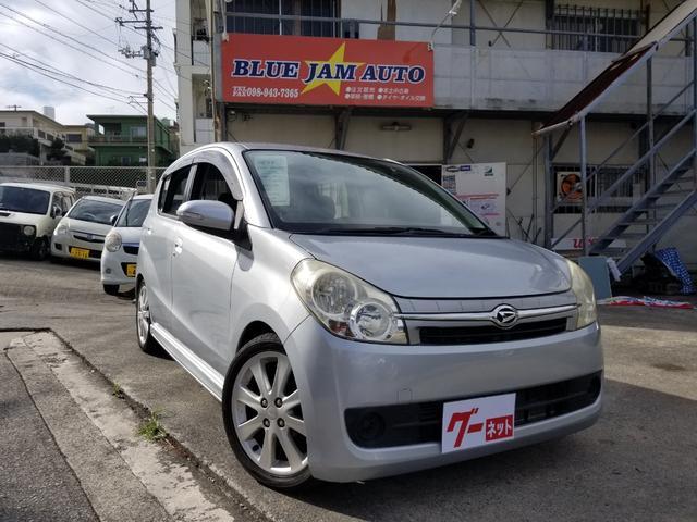 沖縄県の中古車ならミラカスタム RSターボローダウン純正16アルミ新品タイヤ付きOP2年保証