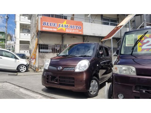 沖縄の中古車 日産 モコ 車両価格 34万円 リ済込 2008(平成20)年 5.6万km ブラウンM