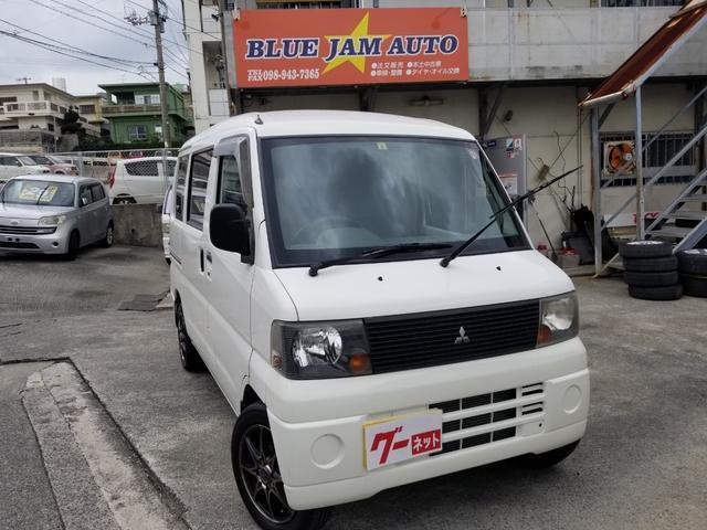 沖縄の中古車 三菱 ミニキャブバン 車両価格 26万円 リ済込 2004(平成16)年 15.4万km ホワイト