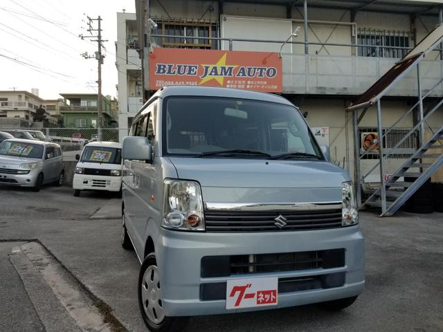 沖縄県の中古車ならエブリイワゴン JP ハイルーフ