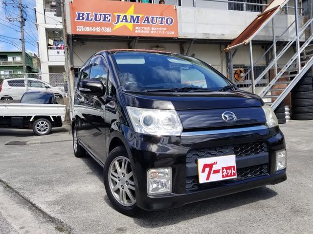 沖縄の中古車 ダイハツ ムーヴ 車両価格 26万円 リ済込 2009(平成21)年 11.4万km ブラックM