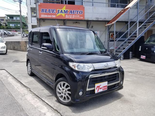 沖縄の中古車 ダイハツ タント 車両価格 32万円 リ済込 2012(平成24)後 17.5万km ブラックM