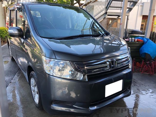 沖縄の中古車 ホンダ ステップワゴン 車両価格 55万円 リ済込 2011(平成23)年 14.7万km シルバーM