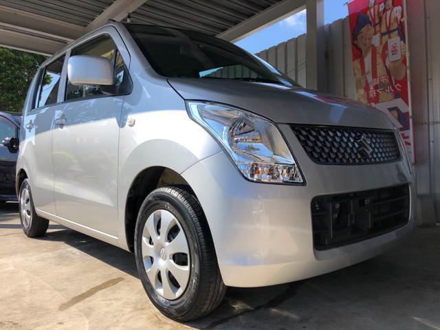 沖縄の中古車 スズキ ワゴンR 車両価格 24万円 リ済込 2009(平成21)年 8.5万km シルバーM