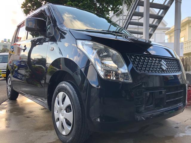 沖縄の中古車 スズキ ワゴンR 車両価格 26万円 リ済込 2009(平成21)年 9.0万km ブラックM