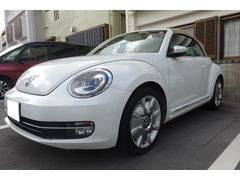 VW ザ・ビートル・カブリオレオーダーメイド限定特別受注生産車 Bカメラ OP最長1年保証