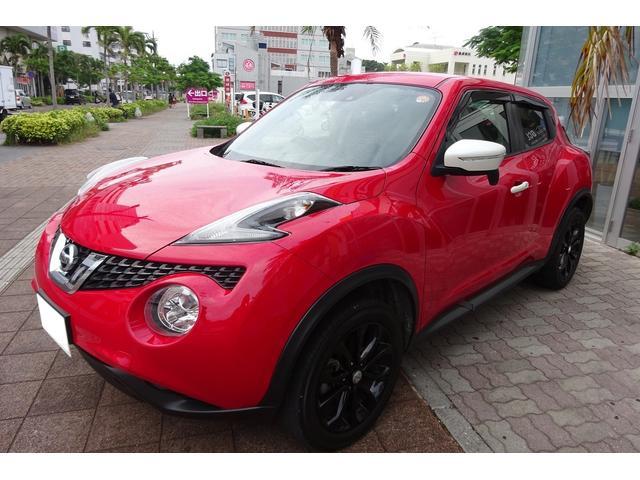 沖縄の中古車 日産 ジューク 車両価格 135万円 リ済込 2017(平成29)年 4.8万km レッドII