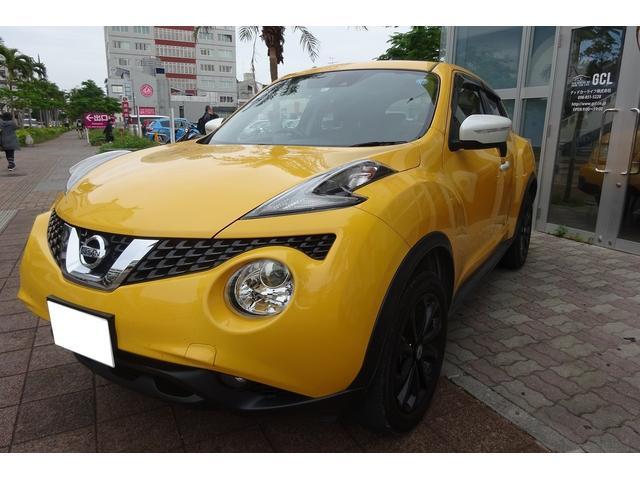 沖縄の中古車 日産 ジューク 車両価格 143万円 リ済込 2017(平成29)年 5.5万km イエローII