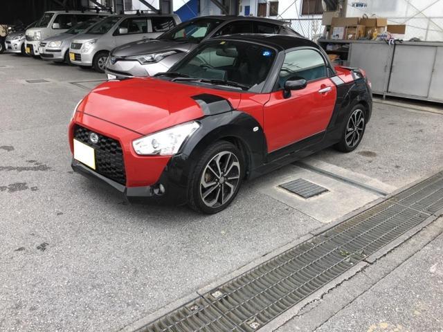 沖縄の中古車 ダイハツ コペン 車両価格 139万円 リ済込 平成28年 5.0万km レッドII