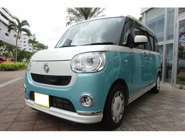沖縄の中古車 ダイハツ ムーヴキャンバス 車両価格 125万円 リ済込 平成29年 4.2万km LグリーンII