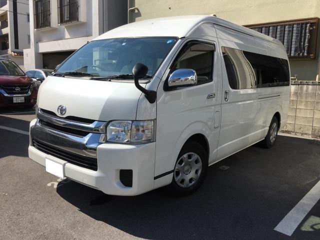 トヨタ グランドキャビン 10名乗 ナビ Bカメラ ETC車載器