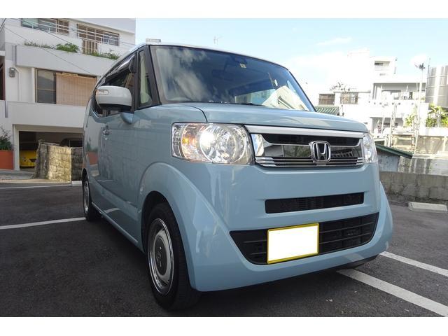 沖縄県の中古車ならN-BOXスラッシュ X サーフインテリ BカメラTVナビ サウンド 2年長期保証