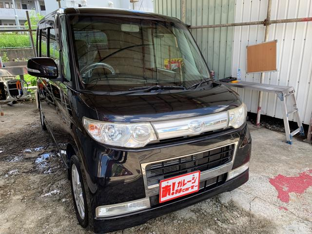 沖縄県の中古車ならタント カスタムRSターボ HDDナビ ワンセグ