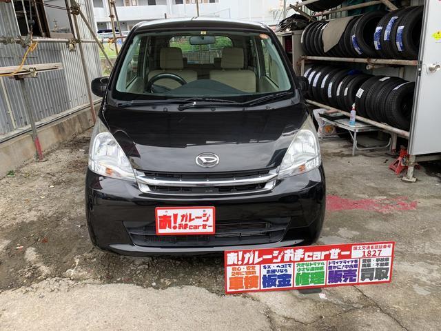 沖縄の中古車 ダイハツ ムーヴ 車両価格 40万円 リ済込 2012(平成24)年 7.0万km ブラック