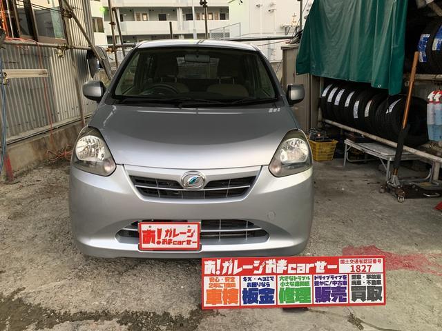 沖縄の中古車 ダイハツ ミライース 車両価格 23万円 リ済込 2012(平成24)年 9.9万km シルバー
