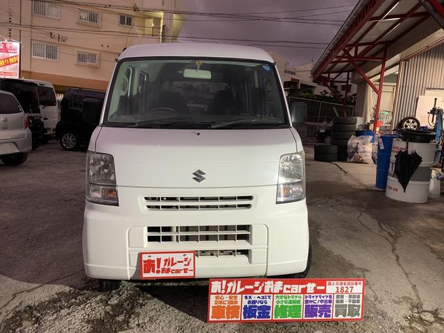 沖縄の中古車 スズキ エブリイ 車両価格 30万円 リ済込 2010(平成22)年 8.6万km ホワイト