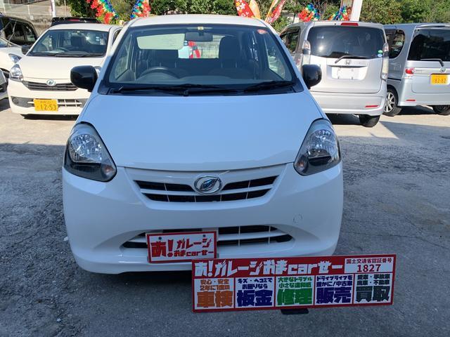 沖縄の中古車 ダイハツ ミライース 車両価格 35万円 リ済込 2012(平成24)年 6.5万km ホワイト