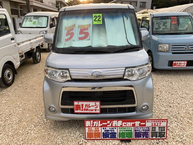 沖縄県の中古車ならタント カスタム 片側パワースライド