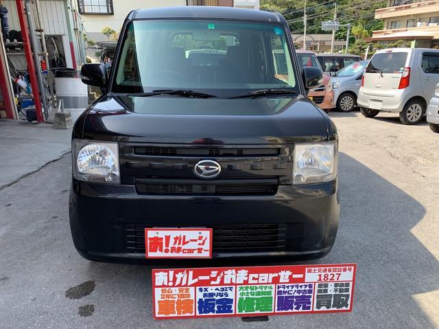 沖縄の中古車 ダイハツ ムーヴコンテ 車両価格 45万円 リ済込 2013(平成25)年 9.6万km ブラック