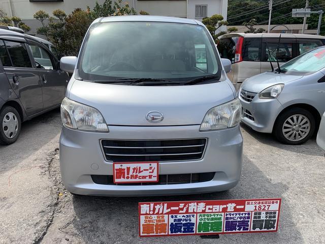 沖縄の中古車 ダイハツ タントエグゼ 車両価格 40万円 リ済込 2010(平成22)年 5.2万km シルバー