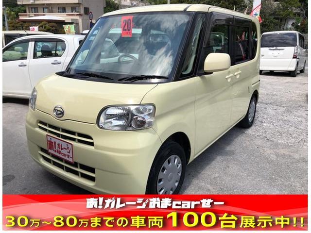 沖縄の中古車 ダイハツ タント 車両価格 40万円 リ済込 2008(平成20)年 8.7万km イエロー