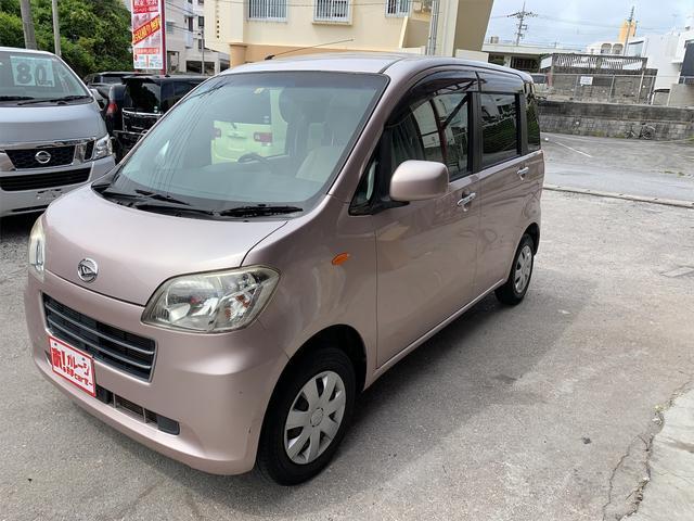 沖縄の中古車 ダイハツ タントエグゼ 車両価格 45万円 リ済込 2010(平成22)年 5.9万km ピンク