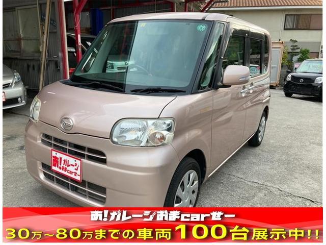 沖縄の中古車 ダイハツ タント 車両価格 35万円 リ済込 2011(平成23)年 11.2万km ピンク