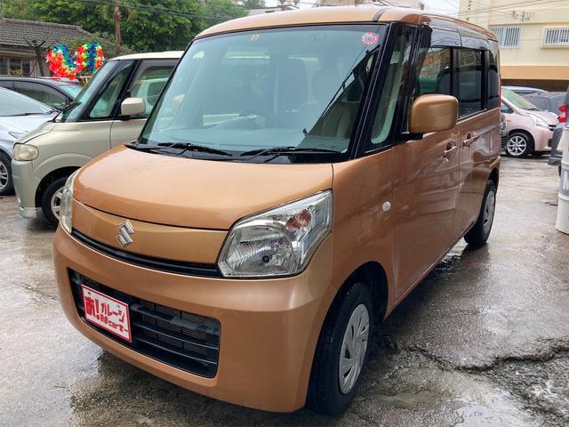 沖縄県那覇市の中古車ならスペーシア G 2年保証 スマートキー Pスタート スライドドア
