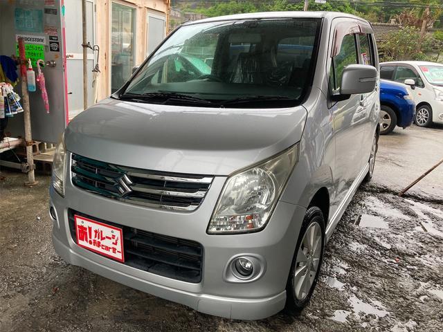 沖縄の中古車 スズキ ワゴンR 車両価格 40万円 リ済込 2009(平成21)年 8.8万km シルバー