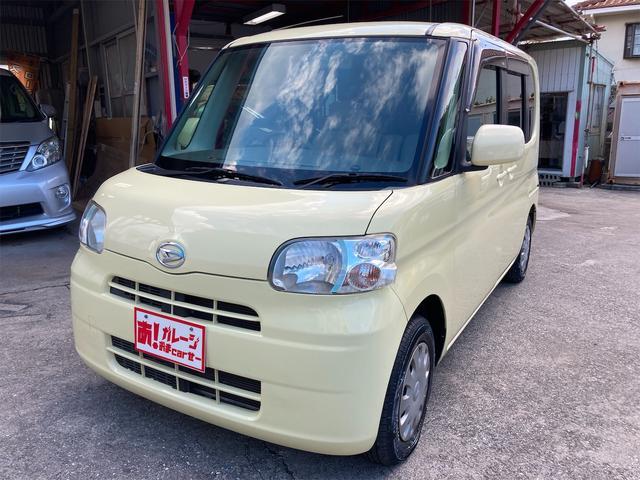 沖縄の中古車 ダイハツ タント 車両価格 40万円 リ済込 2008(平成20)年 6.7万km イエロー