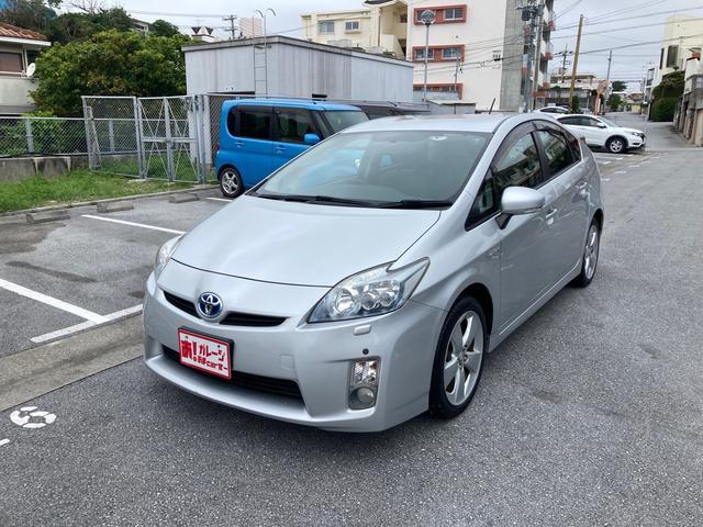沖縄県の中古車ならプリウス Sツーリングセレクション 本土車輌 Bluetoothナビ アンダーコート グリスコート