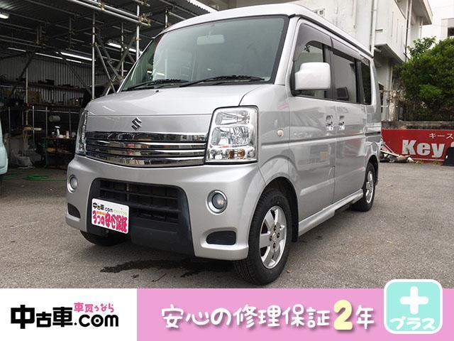 沖縄県の中古車ならエブリイワゴン PZターボスペシャル 2年保証付 TVナビ バックモニター付