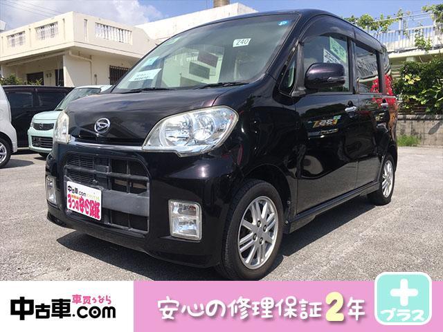 沖縄の中古車 ダイハツ タントエグゼ 車両価格 40万円 リ済込 2010(平成22)年 10.0万km ブラック