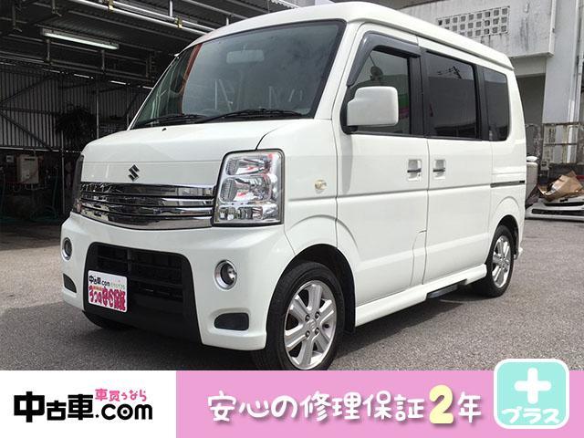 沖縄県の中古車ならエブリイワゴン PZターボスペシャル 2年保証 タイヤバッテリー新品 ETC