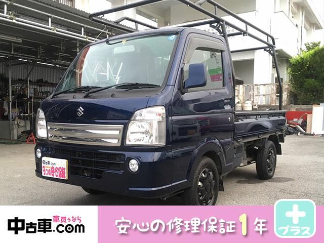 沖縄県の中古車ならキャリイトラック KX 安心の1年間保証付 バッテリー新品 キーレス ETC