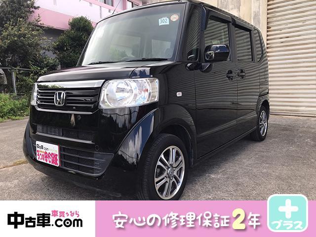 沖縄の中古車 ホンダ N-BOX 車両価格 65万円 リ済込 2012(平成24)年 9.1万km ブラック