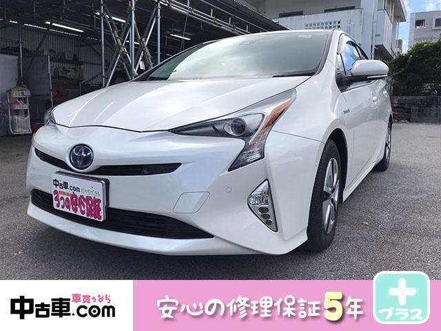 沖縄県の中古車ならプリウス A 5年間修理保証付(HVバッテリー、エンジン、その他♪)