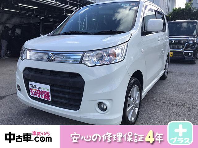 沖縄県の中古車ならワゴンRスティングレー X 2年間保証付(4年更新可能)ワンセグ&BT付 タイヤ新品