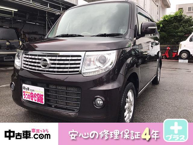 沖縄の中古車 日産 モコ 車両価格 65万円 リ済込 2013(平成25)年 6.5万km ショコラ