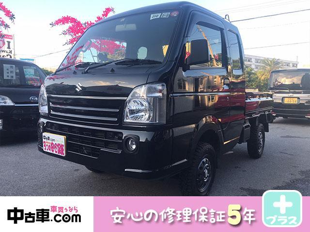 沖縄の中古車 スズキ スーパーキャリイ 車両価格 100万円 リ済込 2019(令和1)年 0.6万km ブラック