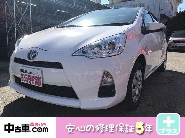 沖縄県南城市の中古車ならアクア L 安心の5年間保証付(HVバッテリー含む♪) タイヤ新品!