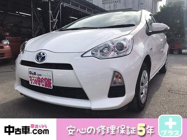 沖縄県南城市の中古車ならアクア L 安心の5年間保証付(HVバッテリー含む♪) タイヤ山9分