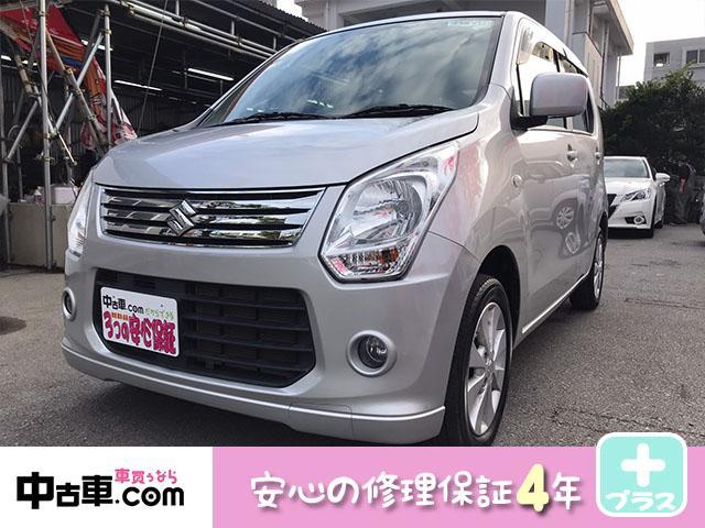 沖縄県の中古車ならワゴンR FX 4年保証♪ タイヤ&バッテリー新品 アイドリング車