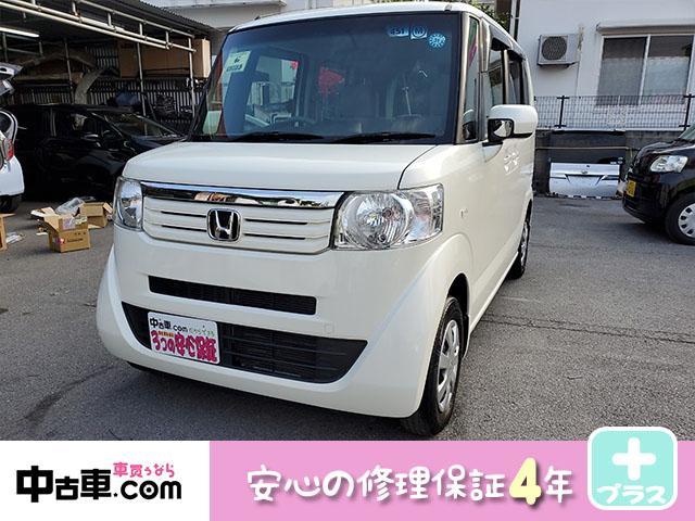 沖縄県の中古車ならN-BOX G・Lパッケージ 4年保証♪ タイヤ新品! ワンセグBT付♪