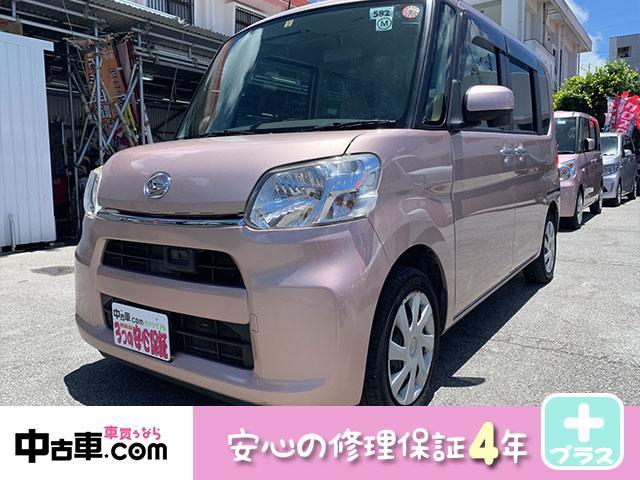 沖縄県南城市の中古車ならタント L SA 4年保証♪ フルセグBT ブレーキサポート搭載車