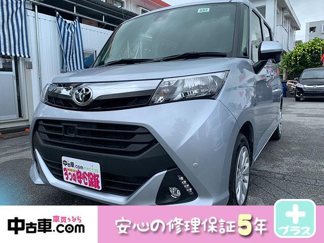 沖縄の中古車 トヨタ タンク 車両価格 85万円 リ済込 2017(平成29)年 4.2万km シルバー