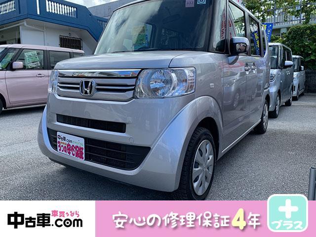 沖縄の中古車 ホンダ N-BOX 車両価格 72万円 リ済込 2016(平成28)年 7.2万km シルバー