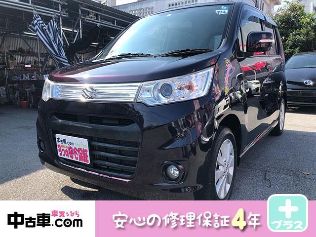 沖縄の中古車 スズキ ワゴンRスティングレー 車両価格 50万円 リ済込 2013(平成25)年 9.2万km パープル